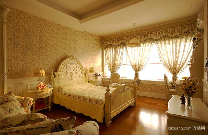古典欧式风格别墅室内装修效果图案例