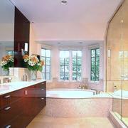 10平米现代风格豪华卫生间设计装修效果图赏析