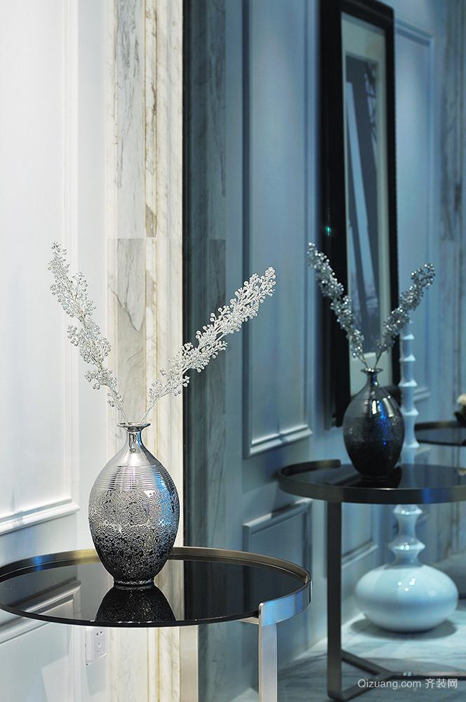 141平米现代简约风格大户型精装室内装修效果图案例