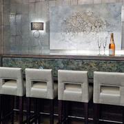 美式风格大户型精致酒柜吧台设计装修效果图