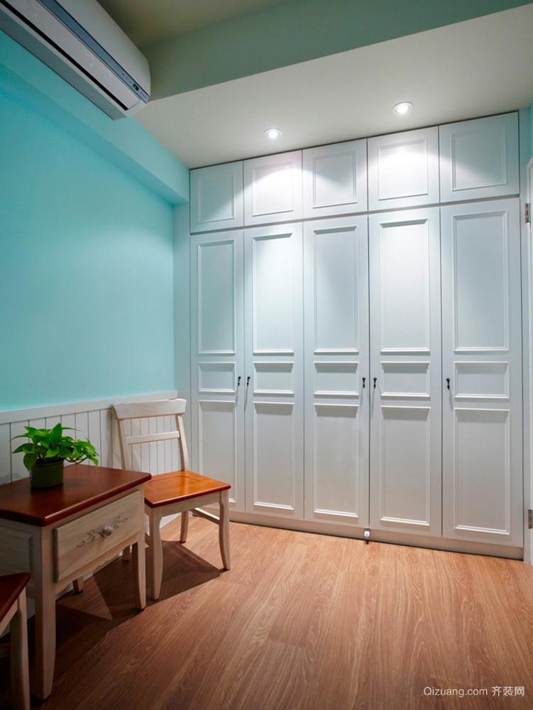 80平米简约美式风格室内装修效果图案例