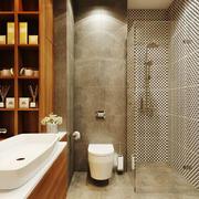 现代风格大户型精致卫生间设计装修效果图欣赏