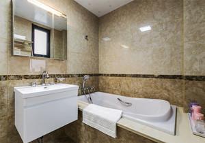 欧式风格精致两居室卫生间装修效果图赏析