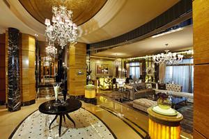 364平米新古典主义风格别墅室内装修效果图阿里
