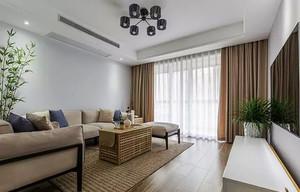 75平米宜家风格简约两室一厅室内装修效果图案例