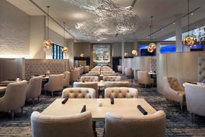 简欧风格精致西餐厅设计装修效果图