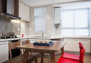 北欧风格小户型开放式厨房设计装修效果图