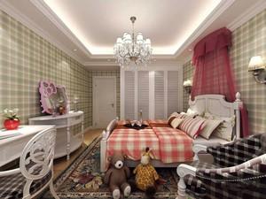 20平米简欧风格温馨儿童房设计装修效果图赏析