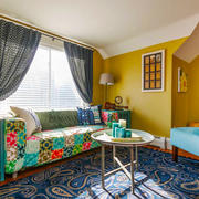 混搭风格时尚靓丽客厅设计装修效果图赏析