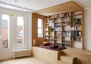 12平米现代简约风格书房设计装修效果图