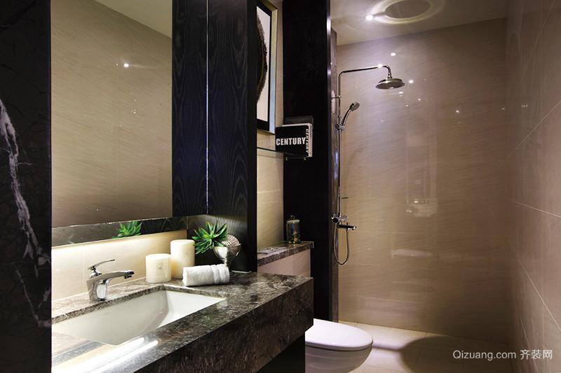 164平米新中式风格奢华大户型室内装修效果图案例