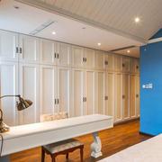 地中海风格精致别墅室内衣帽间设计装修效果图赏析