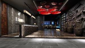 后现代风格餐厅前台设计装修效果图赏析