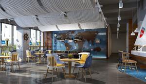 90平米地中海清新风格室内装修效果图赏析
