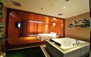 中式风格精品酒店客房设计装修效果图