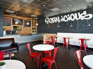 62平米现代风格快餐店设计装修效果图
