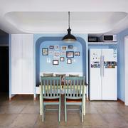 地中海风格大户型精美餐厅背景墙装修效果图赏析