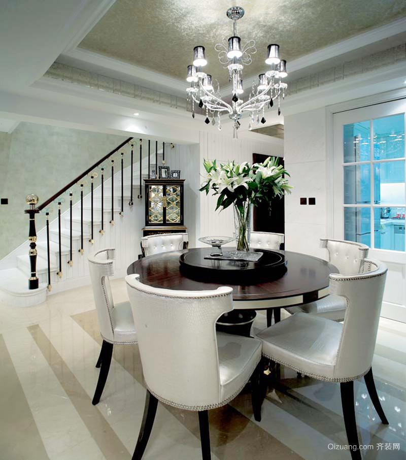 384平米简欧风格精致室内装修效果图案例