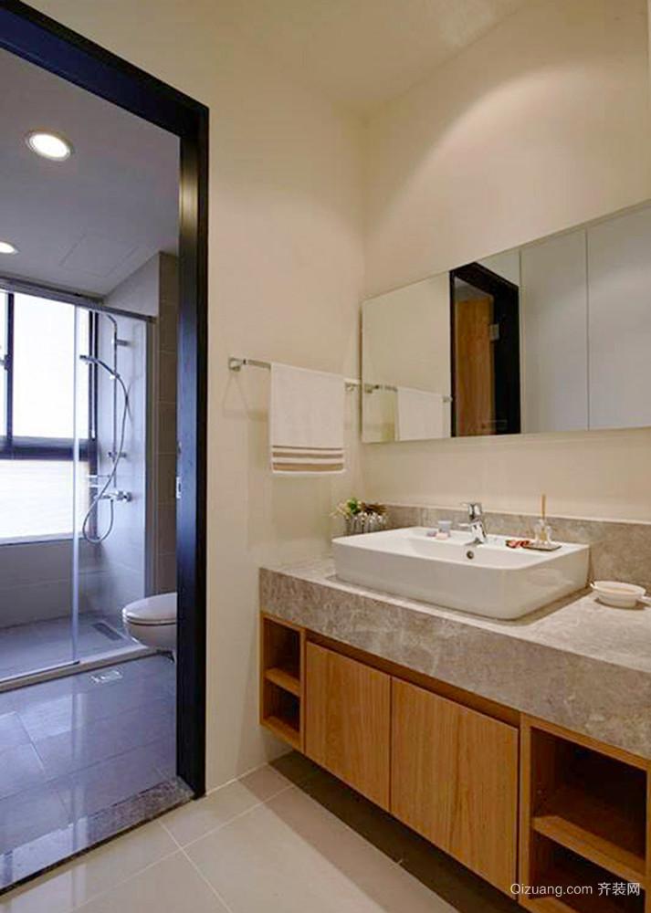 98平米美式风格温馨两室两厅室内装修效果图赏析