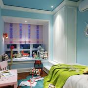 清新风格活泼可爱儿童房装修效果图欣赏