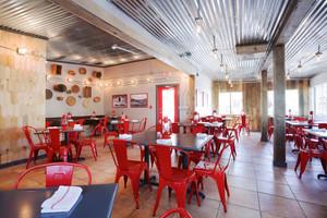 100平米后现代风格餐厅设计装修效果图