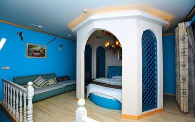 地中海风格精致酒店客房设计装修效果图