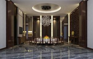 中式风格豪华典雅酒店包厢设计装修效果图赏析