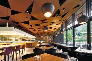 现代风格创意精致西餐厅吊顶设计装修效果图