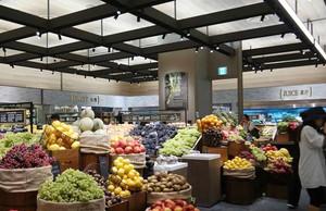 82平米现代风格水果超市装修效果图欣赏