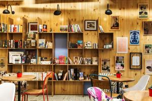 简约风格温馨文艺咖啡厅装修效果图