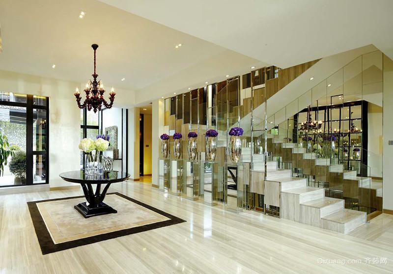 400平米混搭风格精致别墅装修效果图案例