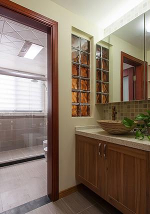95平米时尚中式风格两室两厅室内装修效果图