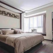 20平米中式风格雅韵精致卧室装修效果图赏析
