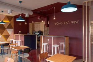 60平米现代风格文艺小咖啡厅装修效果图