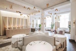 简欧风格温馨精致西餐厅装修效果图赏析