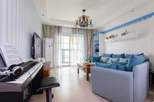 80平米地中海风格清新室内装修效果图案例