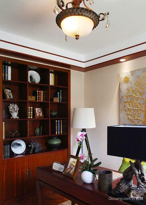 84平米东南亚风格精致两室两厅室内装修效果图
