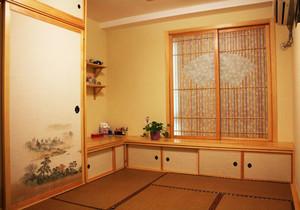 日式风格简约榻榻米卧室装修效果图赏析