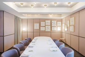 欧式风格精美西餐厅包厢设计装修效果图