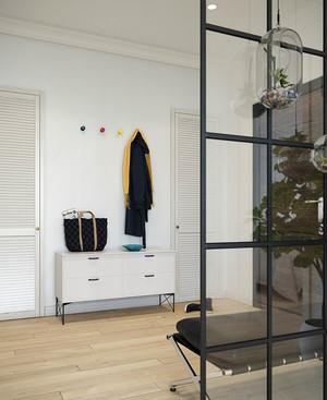 62平米北欧风格自然随性一居室小户型装修效果图