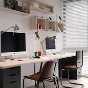 北欧风格简约小书房设计装修效果图欣赏