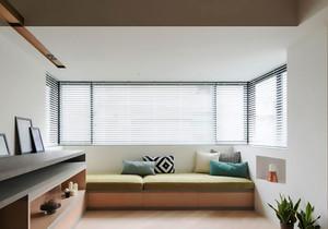 现代简约风格阳台飘窗设计装修效果图赏析