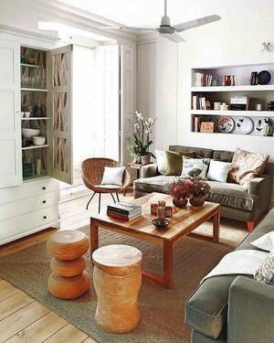 宜家风格简约轻松两室两厅室内装修效果图赏析