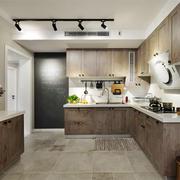宜家风格简约开放式厨房装修效果图赏析