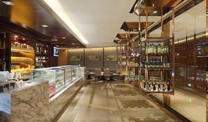 90平米简欧风格精致面包店设计装修效果图