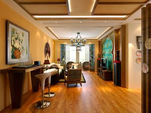 90平米东南亚风格精致室内装修效果图赏析