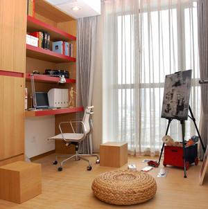 现代简约风格小书房设计装修效果图赏析