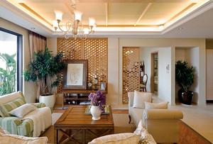 120平米美式风格精致室内装修效果图案例