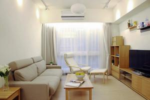 61平米日式风格简约一居室小户型装修效果图赏析