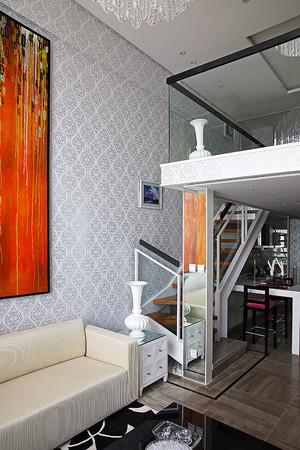 145平米现代简约风格复式楼装修效果图赏析